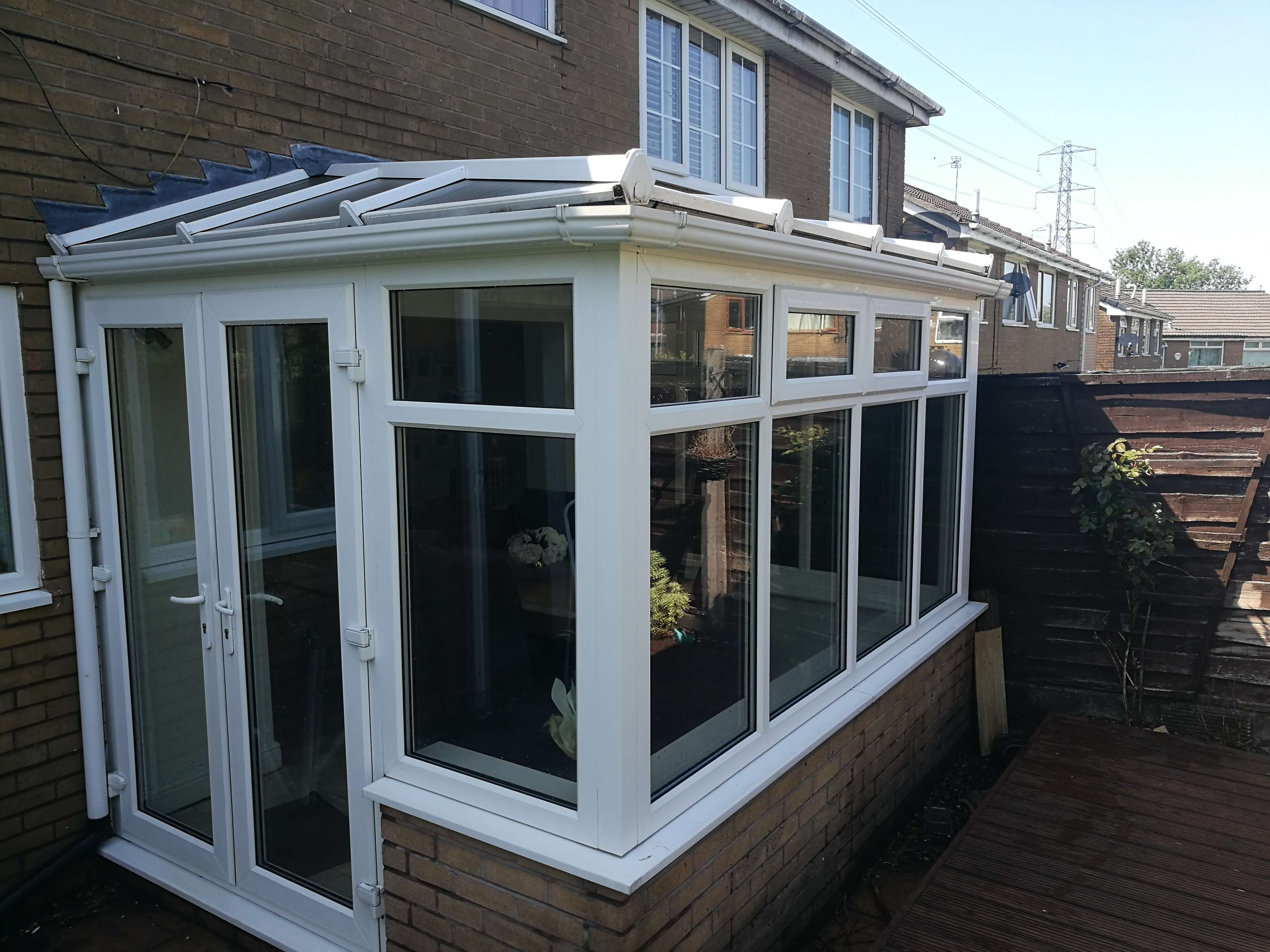 Conservtory Cleaned With R n B Window Cleanings Pure Water System